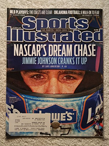 (NASCAR's Dream Chase - Jimmie Johnson Cranks It Up - Sports Illustrated - October 17, 2011 - Auto Racing - SI)