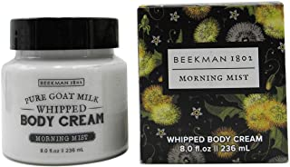 product image for Beekman 1802 Pure Goat Milk Whipped Body Cream 8.0 fl oz. (Morning Mist)