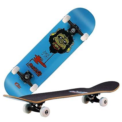 HIOD Patinete Maple Skateboard Completo 31 * 8 Pulgadas ...