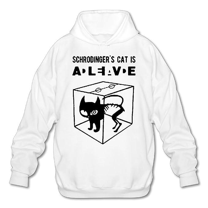 Cat Store112 para hombre sudadera con capucha camiseta, algodón orgánico, gráfico: Amazon.es: Ropa y accesorios