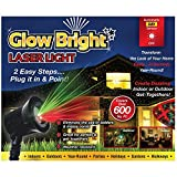 Christmas Laser Light Show DELUXE WITH REMOTE, Tripod, and Stake