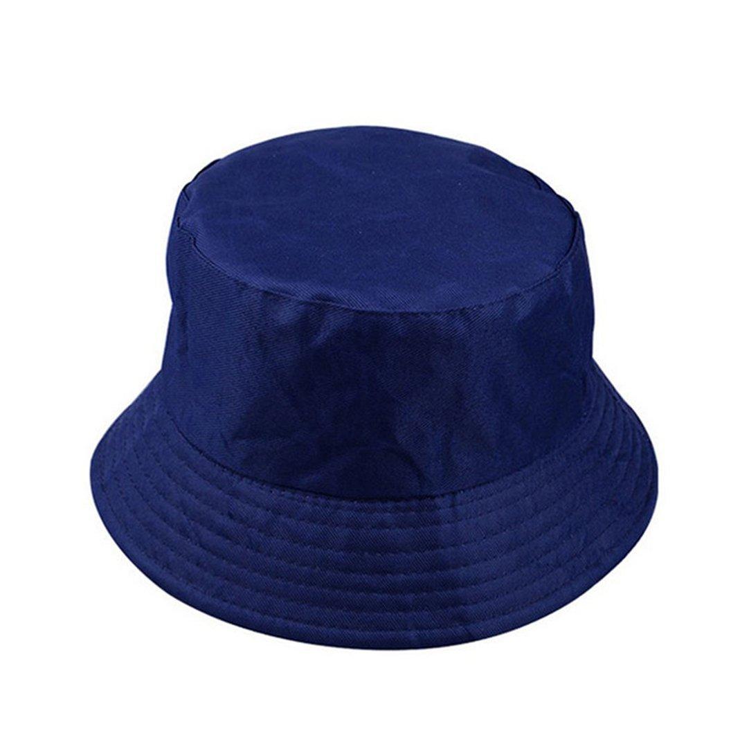 ZHOUBA Fashion Unisex Bucket Hat Fisherman Cap Summer Outdoor Fishing Camping Travel Visor Sun Hat