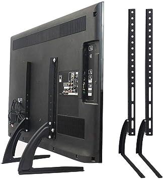 Universal Soporte de Mesa para TV Pedestal Base se Adapta a un Televisor LCD LED de 39