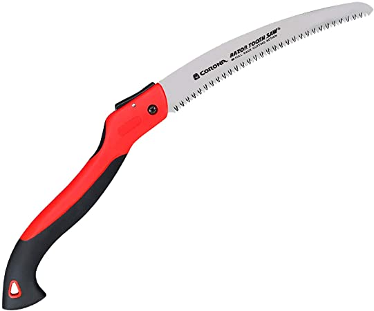"13/"" Outdoor Home Lawn Curved Razor Tooth Pruning Saw Gardening Cutting Hand Tool"