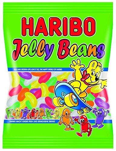 Haribo Jelly Beans, Gummy Bears, Wine Gum, Fruit Gum, in a Bag, 175 g