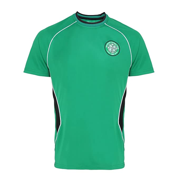 the latest ef3bd 51ccf Official Soccer Merchandise Celtic FC Adults Short Sleeve T-Shirt