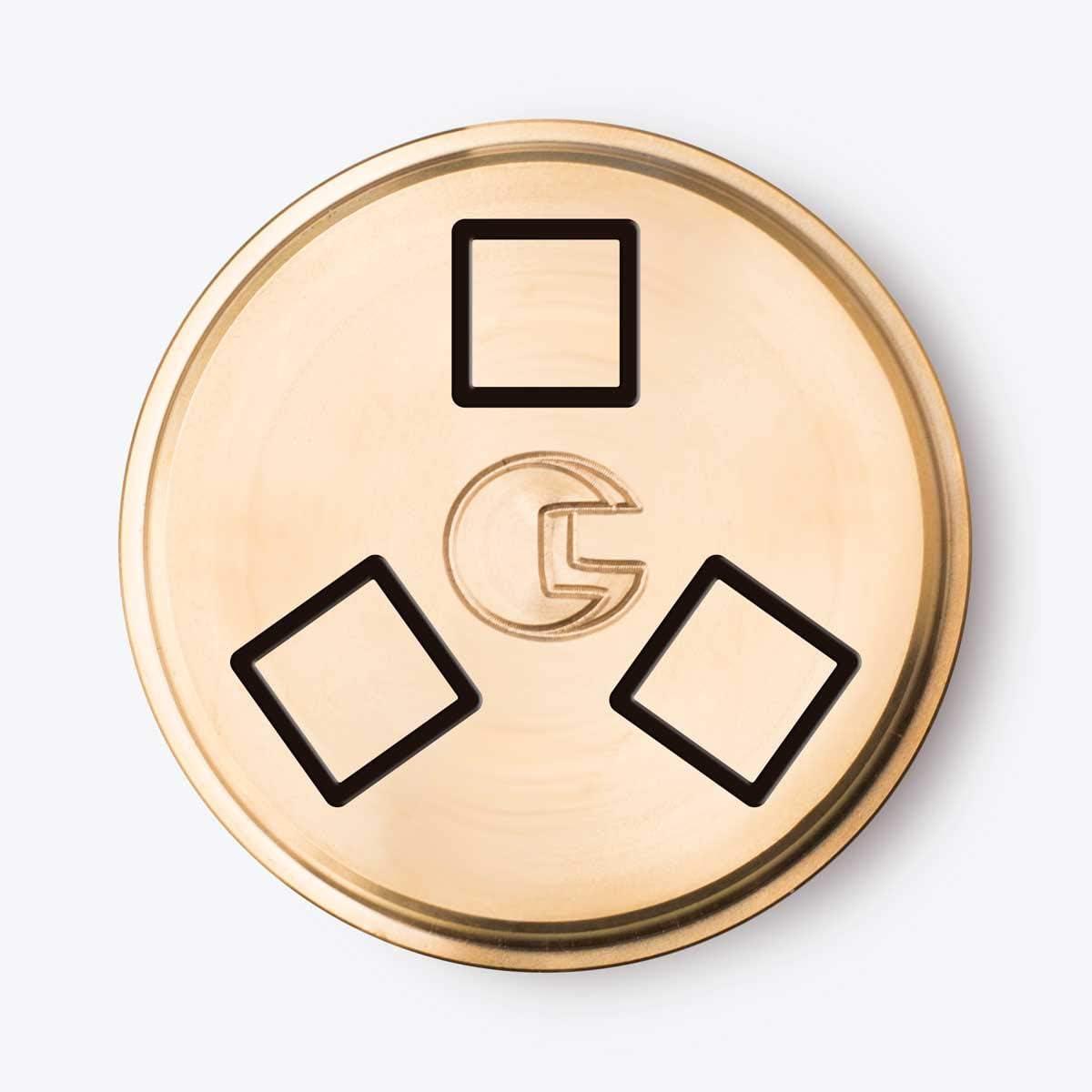 CAPO12 – Cabrestante de bronce n° 122 cuadrados compatible con ...