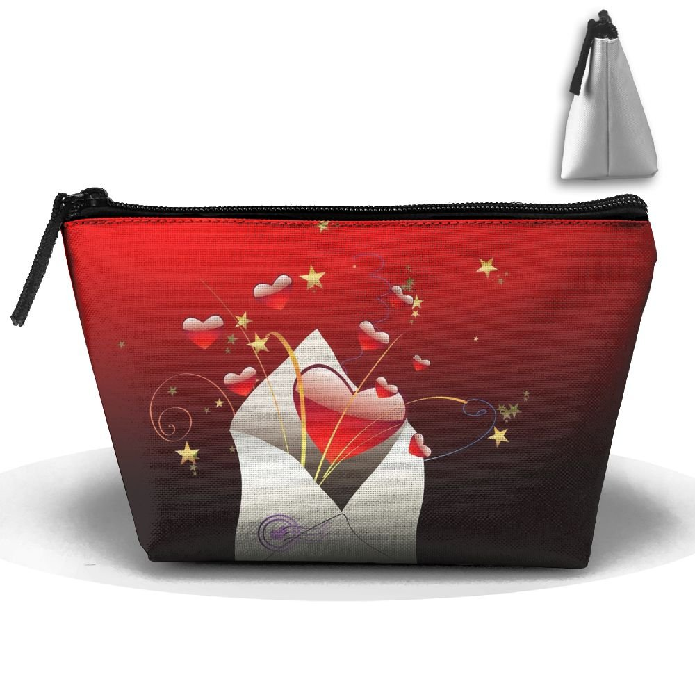 L-Love-You High-capacity Storage Bag Multi-purpose Storage Bag Portable Bag Trapezoidal Storage Bag
