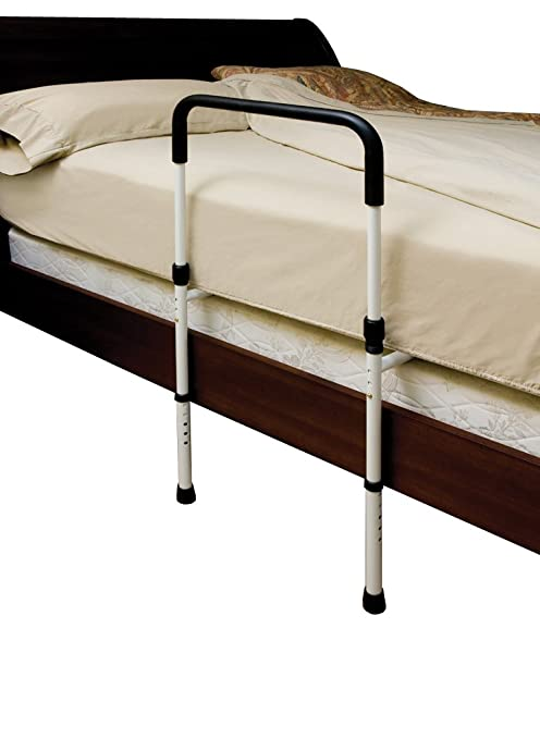 Essential Medical Supply Adjustable Hand Bed Rail with Floor Support