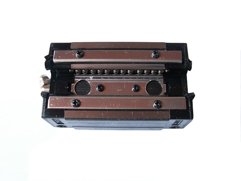 Joomen CNC Set 15-200mm 2x Linear Guideway Rail 4x Square type carriage bearing block