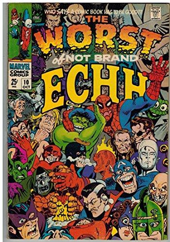 NOT BRAND ECHH 10 VG-F (GIANTS) Oct. 1968 COMICS BOOK (Book Original Art Comic)