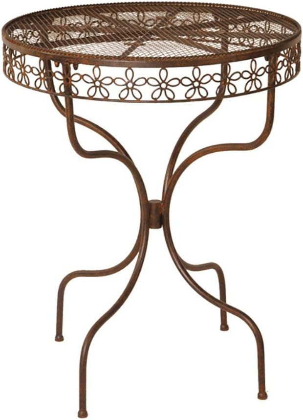 Deer Park Ironworks Daisy Ribbon Bistro Table