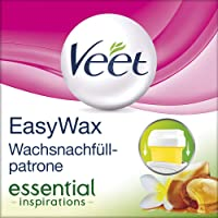 Veet EasyWax Nachfüll-Patrone essential inspirations, für alle Hauttypen, 1er Pack (1 x 50 ml)