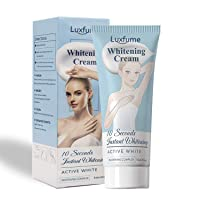 Whitening Cream,10 Seconds Instant Whitening, Moisturizes and Effective Body Cream for Armpit, Knees, Elbows, Sensitive and Private Areas(2 Fl Oz)