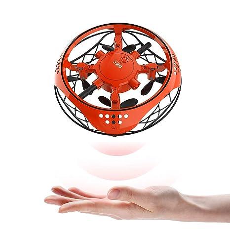 Jiadi UFO Drone Volador Juguete de Mano controlado, Bola voladora ...
