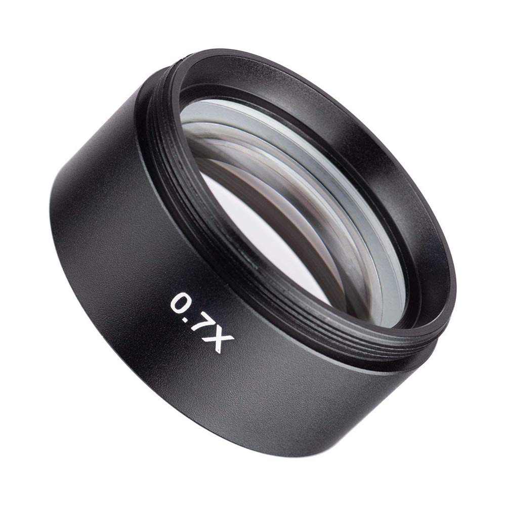 SM07 0.7X Barlow Lens, CyberPark SM07 0.7X Barlow Lens for SM Stereo Microscopes (48mm) by CyberPark