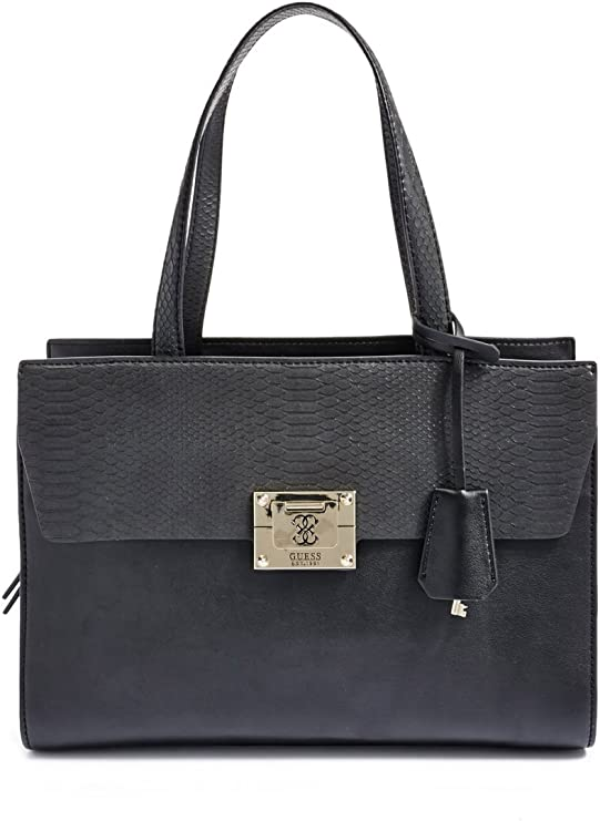Guess Tasche ANGELA Madison Satchel black, HWVG5068060