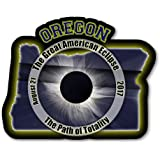 EC009 – Oregon - Great American Eclipse 2017 Sticker
