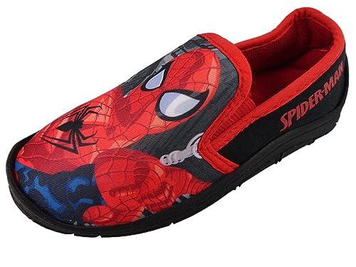 Spiderman - Zapatillas de Estar por casa de Material Sintético para niño: Amazon.es: Zapatos y complementos