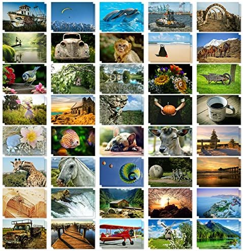 Postcards Bulk 40 Pack Assorted Variety product image