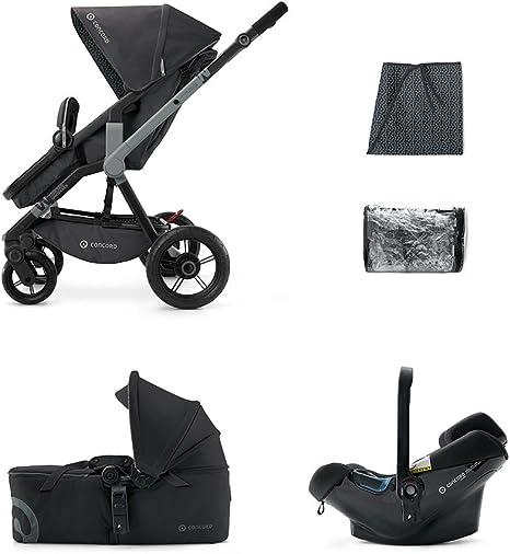 Concord Coche de Paseo Trío Wanderer Mobility Set negro