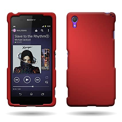 reputable site 27a1b cd217 Amazon.com: CoverON Hard Rubberized Slim Case for Sony Xperia Z2 ...