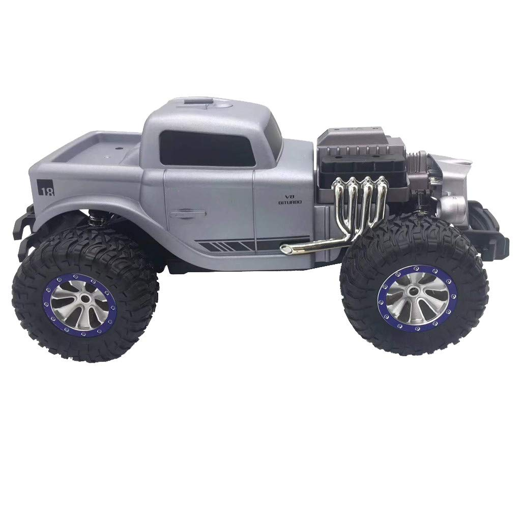 1/18 Scale RC Rock Crawler 4WD Off Road RC Truck 2.4Ghz 20KM/H High Speed Remote Control Monster Truck Desert Buggy RC Car for Ages 14+ by DaoAG (Image #3)