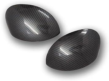 1 Paar Spiegelkappen Citr C2 C3 Und Xsara Picasso Mit Wassertransferdruck Carbon Look Spiegel Außenspiegel Auto