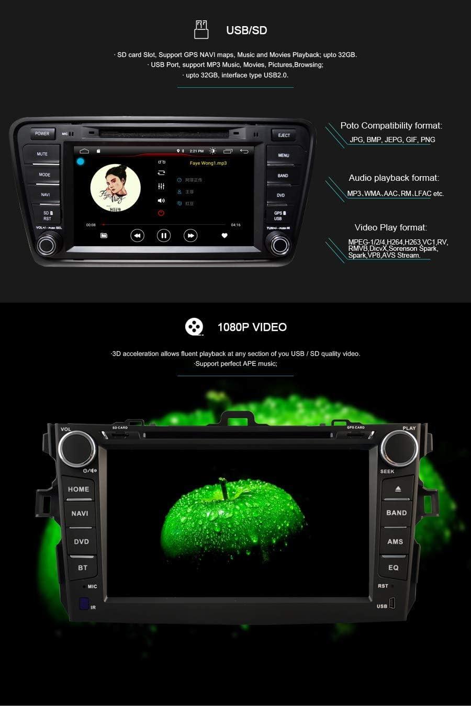 Autosion Android 10 Auto Dvd Gps Stereo Headunit Navi Elektronik