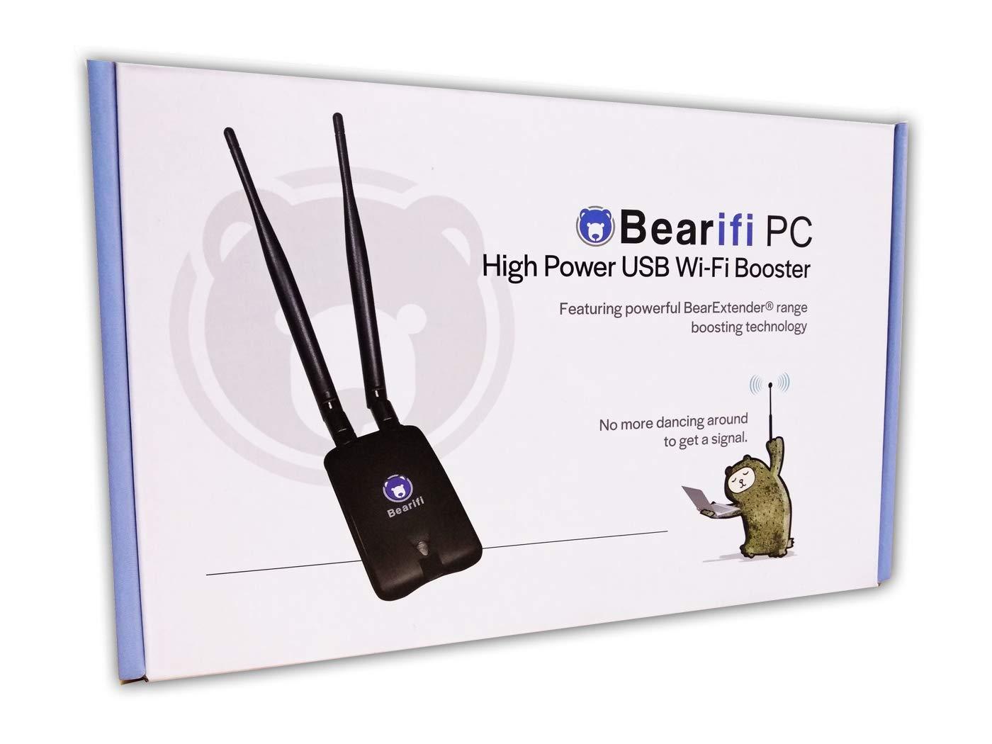 Bearifi BearExtender PC v4 USB WiFi Booster and Range Extender for Microsoft