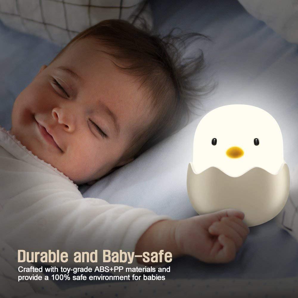 Veilleuse de B/éb/é Tecboss Veilleuse de Nuit Pour B/éb/é /à LED Pour Chanbre dEnfant
