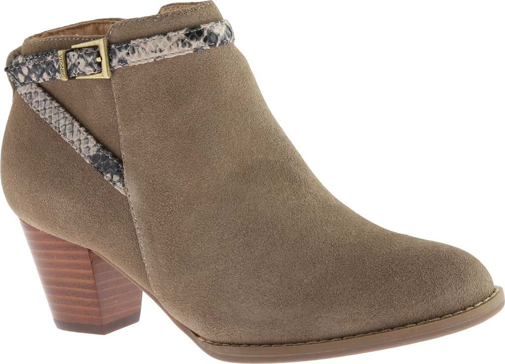 Vionic Upright Upton Women Round Toe Suede Tan Ankle Boot B018TRZO6A 9 B(M) US|Light Tan
