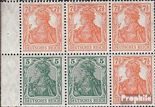 Prophila Collection Deutsches Reich Hbl22ab A 1919 Germania (Briefmarken für Sammler)