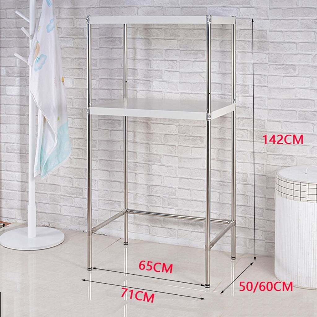 Amazon.com: Estantería de almacenamiento Qhw para lavadora y ...