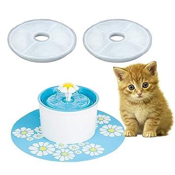 Originaltree - 2 filtros para Fuente automática de Agua para Mascotas, Gatos, Perros,