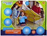 Discovery Kids Construction Fort 72pc Build & Play