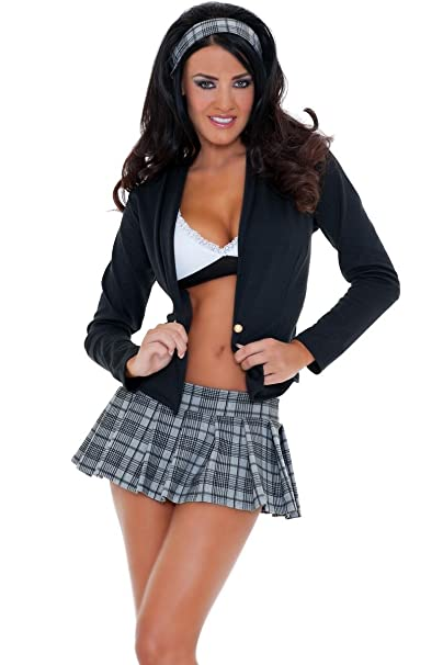 e97dc024a8d 3WISHES Women's Sexy Secret Studies Costume Hottest School Girl ...