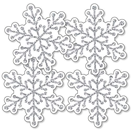 Winter Wonderland - Snowflake Decorations DIY Snowflake Holiday Party & Winter Wedding Essentials - Set of 20]()