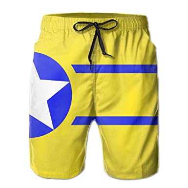 7971ab2a9e Men's Swim Trunks High School Flag Fast Dry Ultra-light Ventilation Board  Shorts