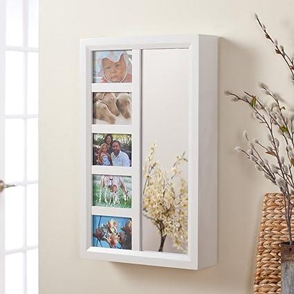 Amazon.com: Photo Frames Wall Mount Jewelry Armoire Mirror - High ...