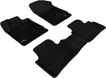 Amazon Com 3d Maxpider Complete Set Custom Fit All Weather Floor Mat For Select Nissan Maxima Models Kagu Rubber Black Automotive
