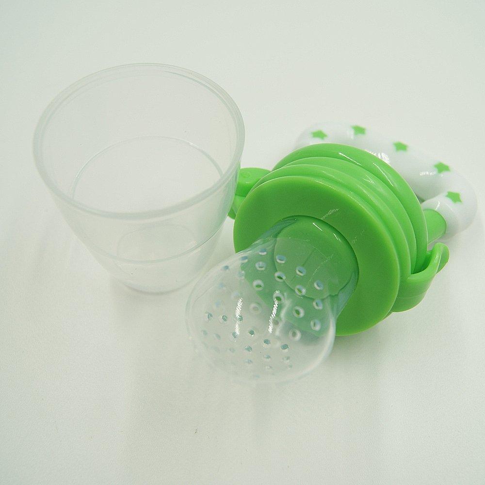 Amazon.com : Solid Baby Food Teether Soother Chupetes Processador De ...
