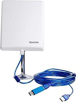 Dionlink Antena WiFi de Largo Alcance para Exteriores ...