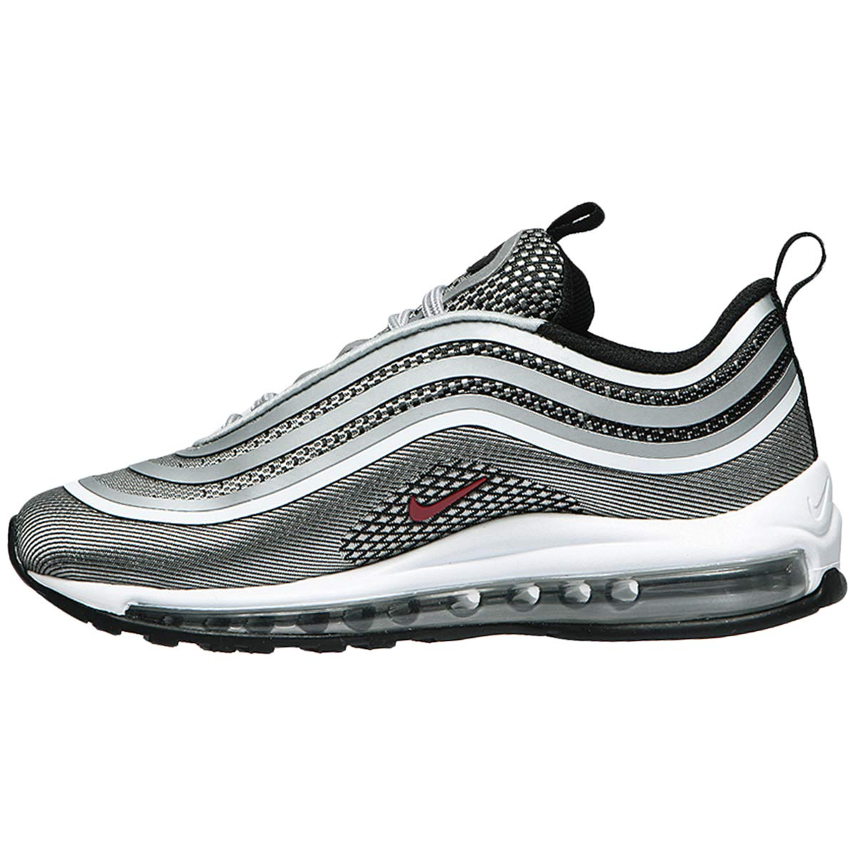 reputable site b426b 5f988 Nike Youth Air Max 97 UL 17 GS Textile Metallic Silver Formateurs 35.5 EU   Amazon.fr  Chaussures et Sacs
