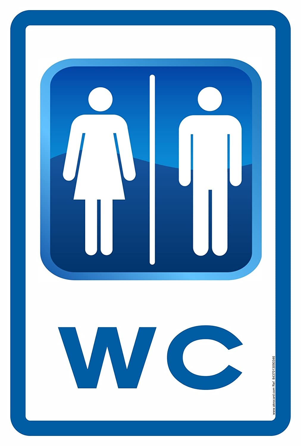Cartel wc