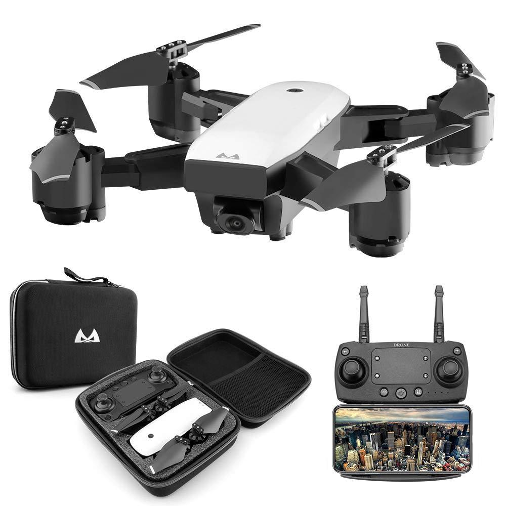 ERKEJI Drohne Schwerkraft Induktion Remote Kontrolle Faltbare Vier-Achs Flugzeuge pneumatische Feste Höhe Spielzeug Flugzeug 1080p Luftbild Echtzeit-Übertragung WiFi FPV