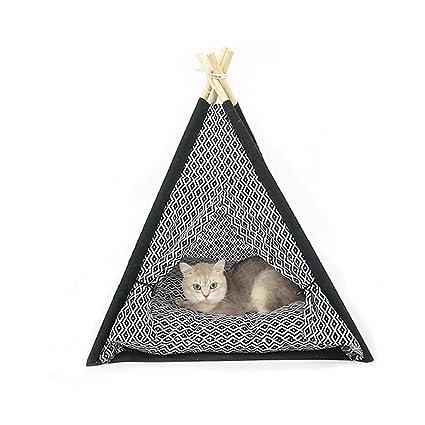 D_HOME Cama para Gatos/Carpa para Perros/Casa para Mascotas ...