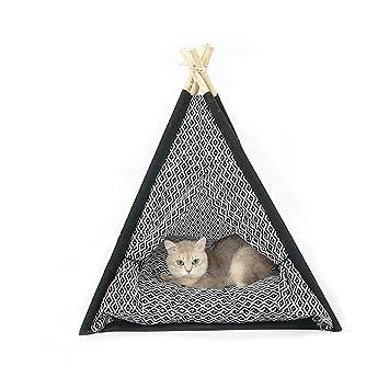 WANGXIAOLIN Tienda para Mascotas, Nido De Gato Semicerrado, Resistente A La Captura, Adecuado