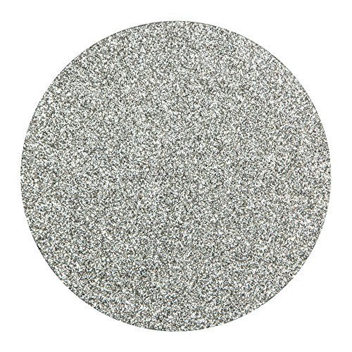 Creative Converting Coasters Glitter Silver