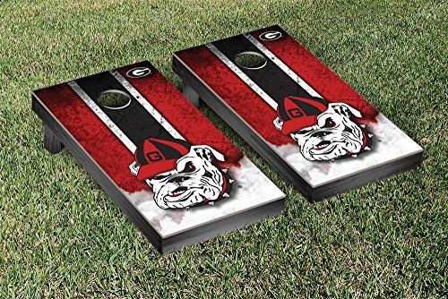 NCAA Georgia Bulldogs Vintage Version 2 Cornhole Game Set